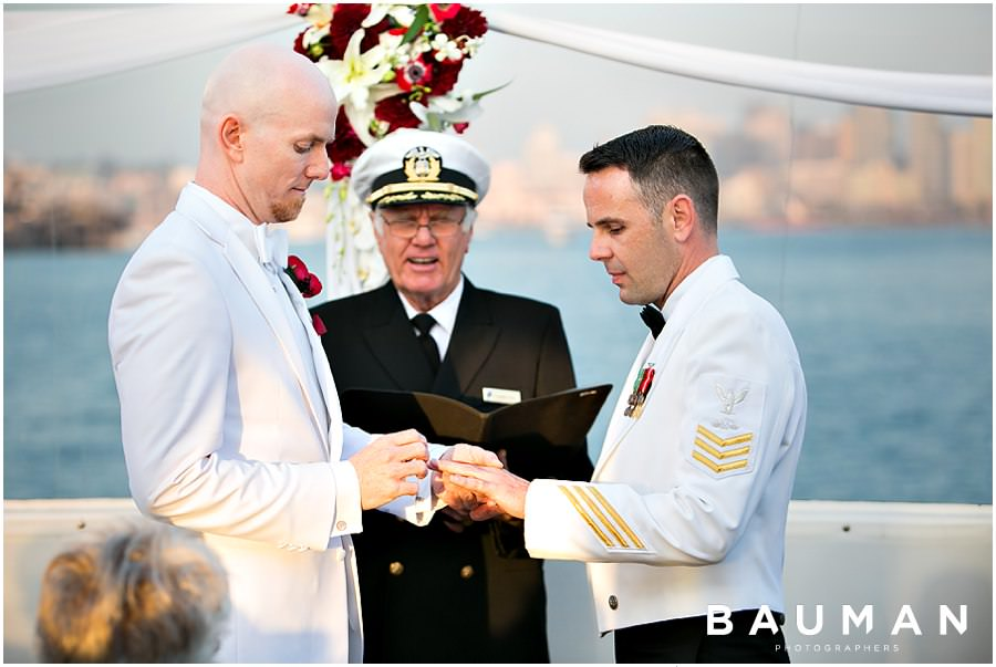 san diego wedding photography, wedding photography, wedding, gay, gay marriage, hornblower wedding, wedding on a boat, love, pride, sweet, san diego, ocean wedding,