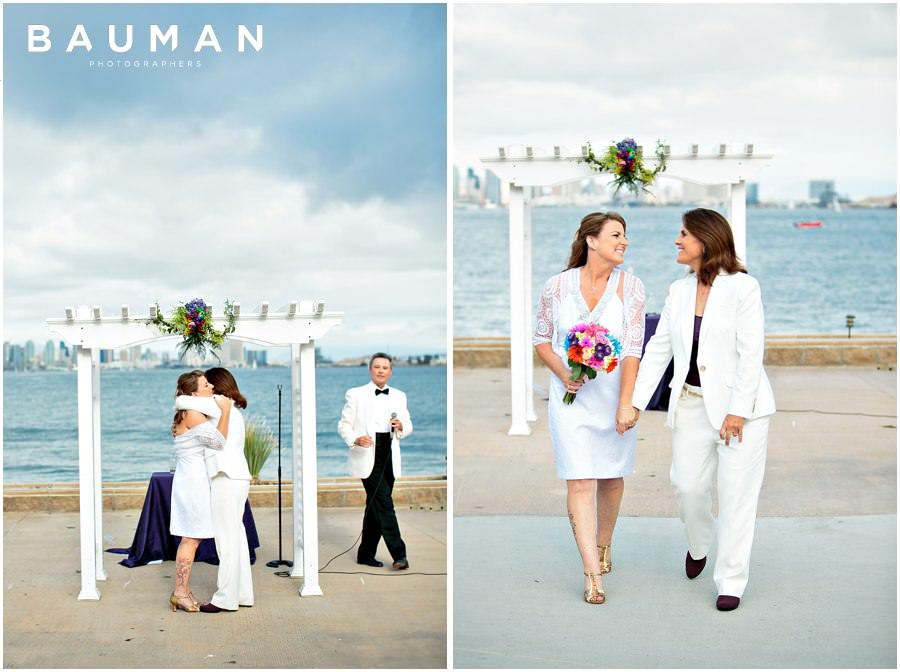 san diego photography, san diego, admiral kidd club, admiral kidd wedding, gay wedding, gay, lesbian wedding, skyline wedding, wedding photography, wedding, love, sweet, zombie wedding,
