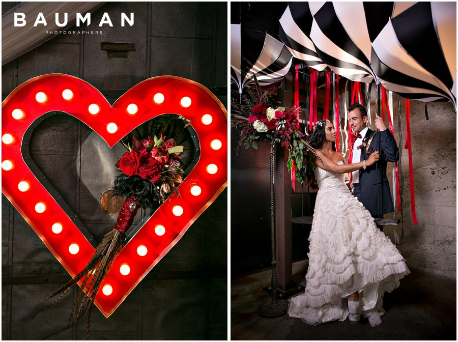 wedding, ceremony, ceremony magazine, brilliant event design, circus, whimsical, playful, colorful, romantic, paris, french, red, gold, luxury, luxurious, elegant, bohemian, bauman photographers, wedding photography