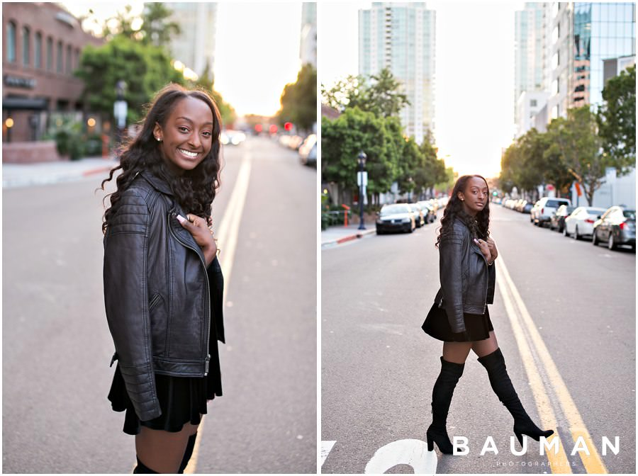 san diego portrait photographer, san diego portraits, san diego senior portraits, senior portraits, downtown senior portraits, gaslamp senior portraits, gaslamp