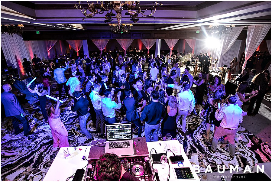 del mar country club wedding reception, del mar wedding, wedding party