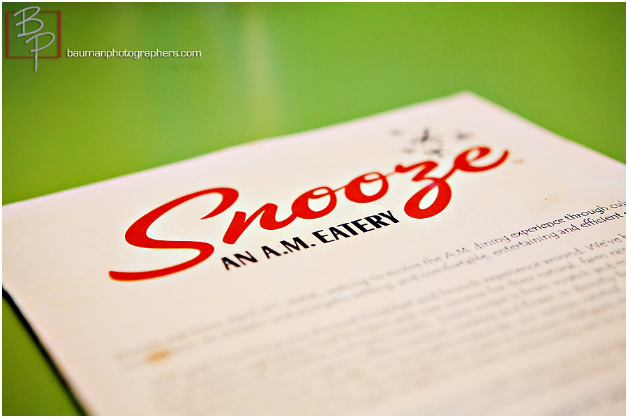 Breakfast all day at Snooze in Hillcrest