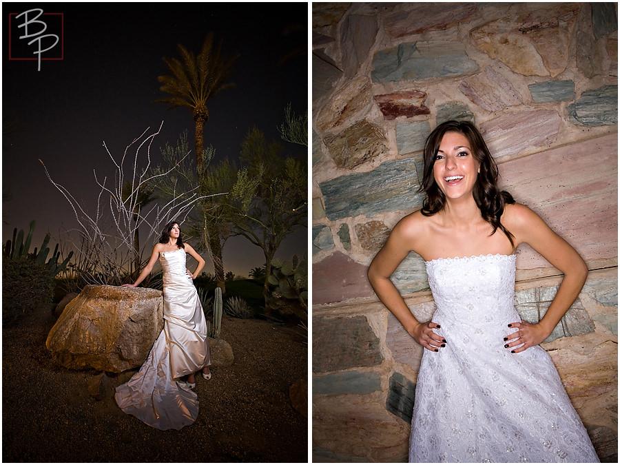 Arizona bridal portrait