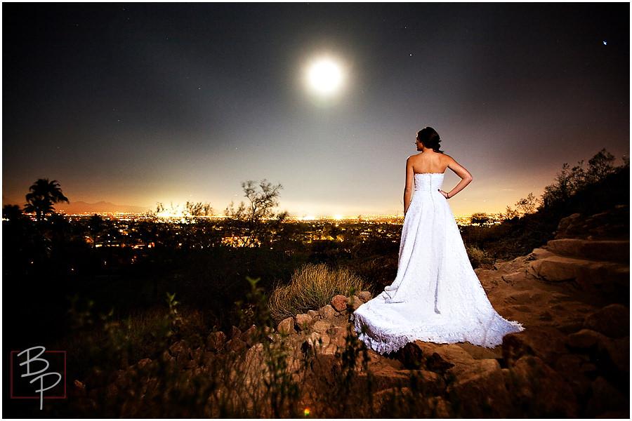 Phoenix bride Camelback Mountain