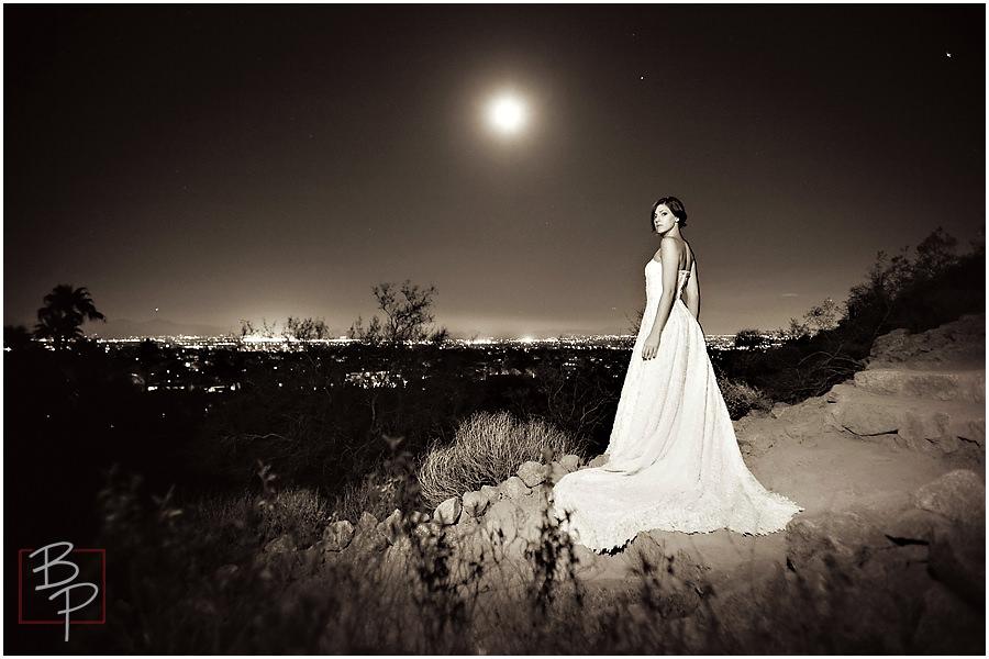 Arizona bride Camelback Mountain