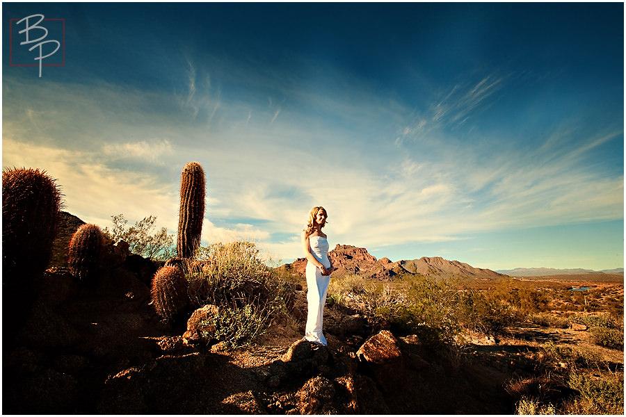 gorgeous Arizona desert wedding photography