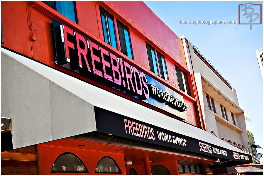 Photographs of Freeb!rds for lunch