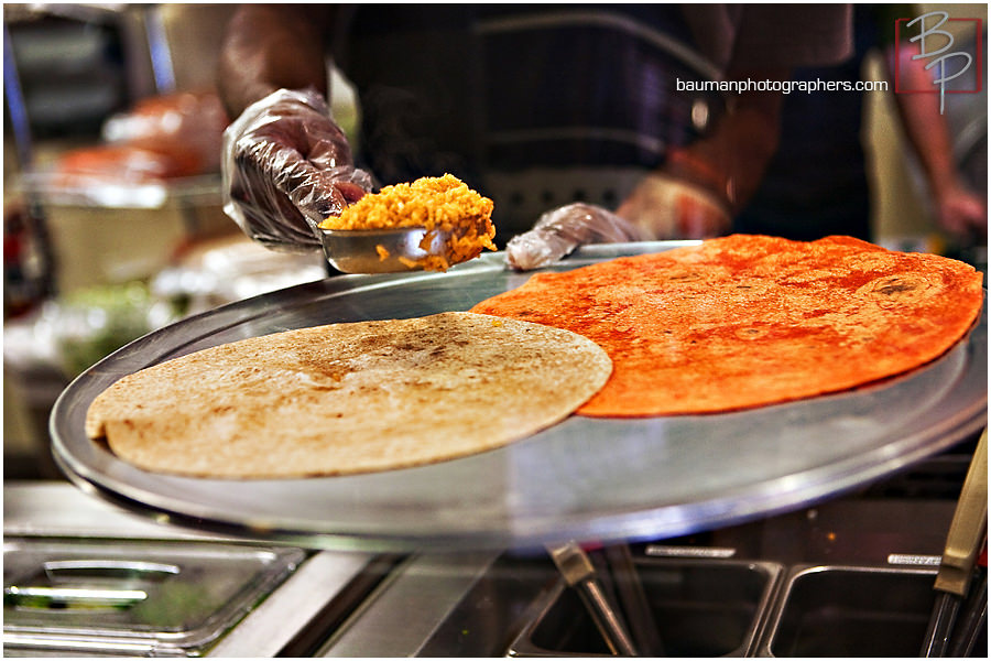 Food photography at Freeb!rds