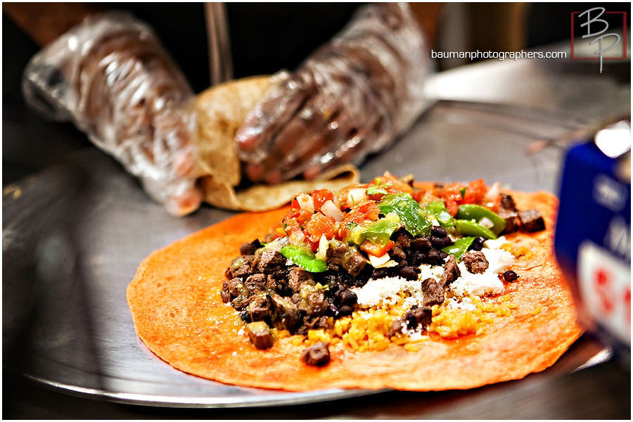 Burrito photograph from Freeb!rds in Hillcrest