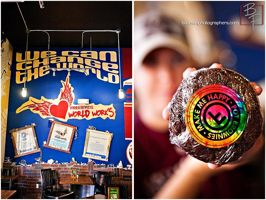 San Diego photographers lunch photographs