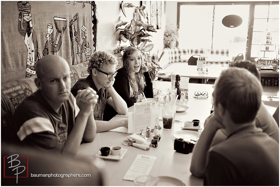 Lunch photographs by Bauman Photographers