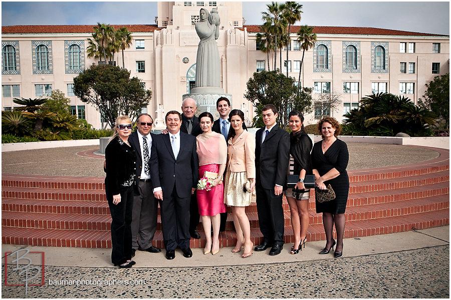 Wedding portraits in San Diego