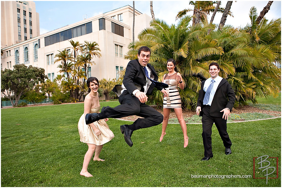fun portraits in SD courthouse gardens