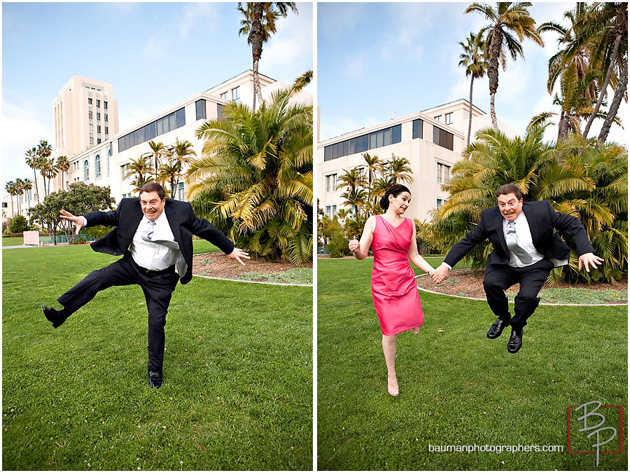 jump portraits in SD courthouse