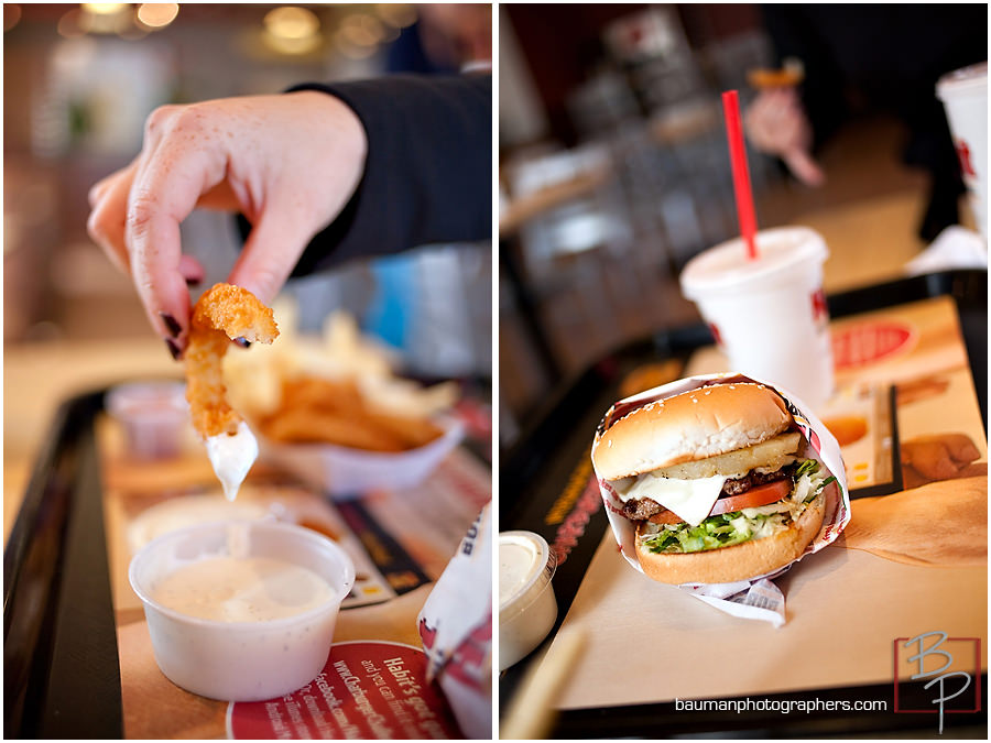 Photography of food from The Habit in San Diego