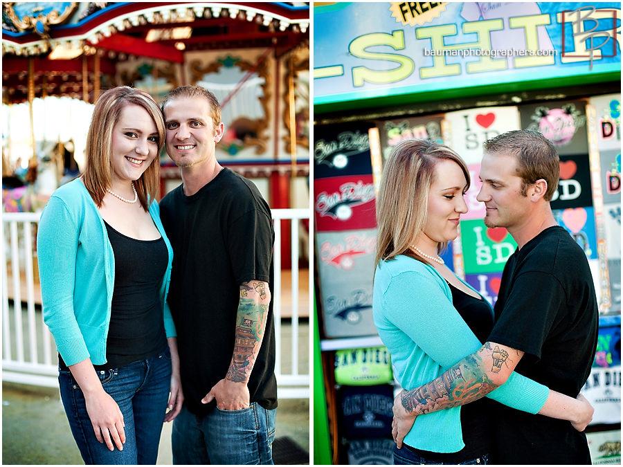 Mission Beach engagement photos