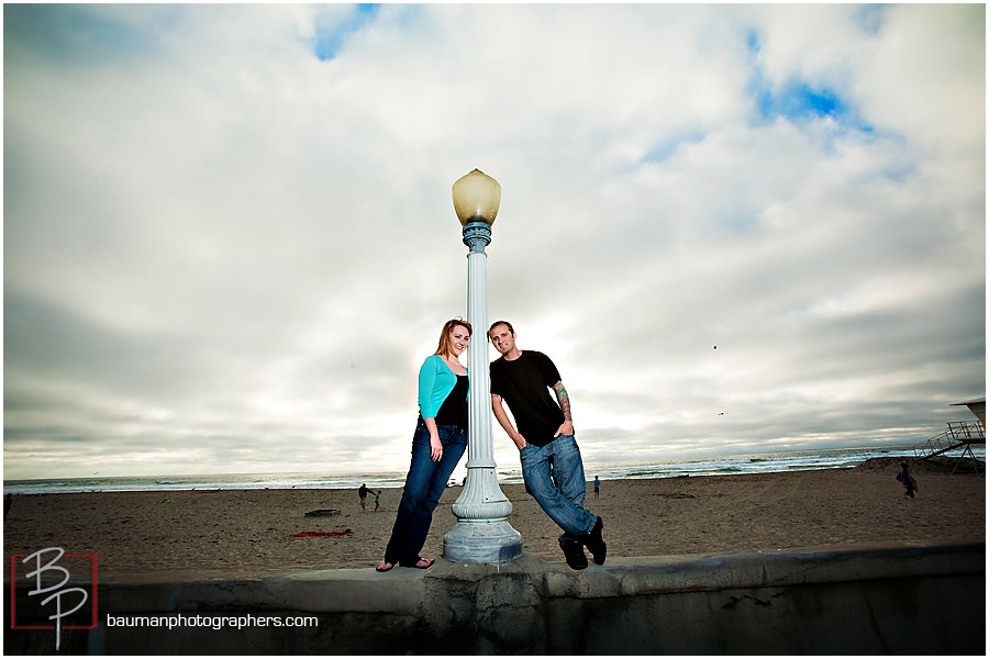 Couple Portraits at Mission Beach
