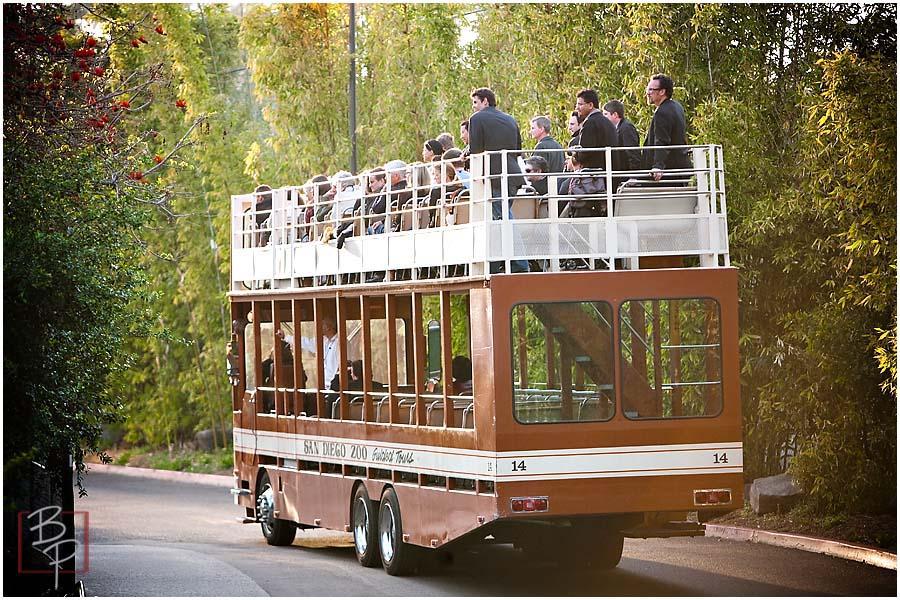 San Diego Zoo Tour Bus