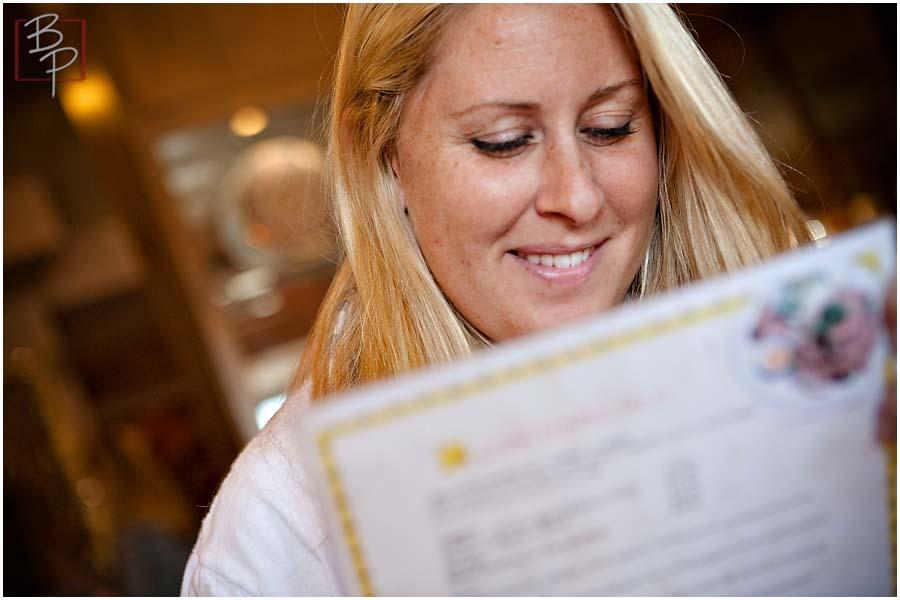 sarah zimmer reading menu