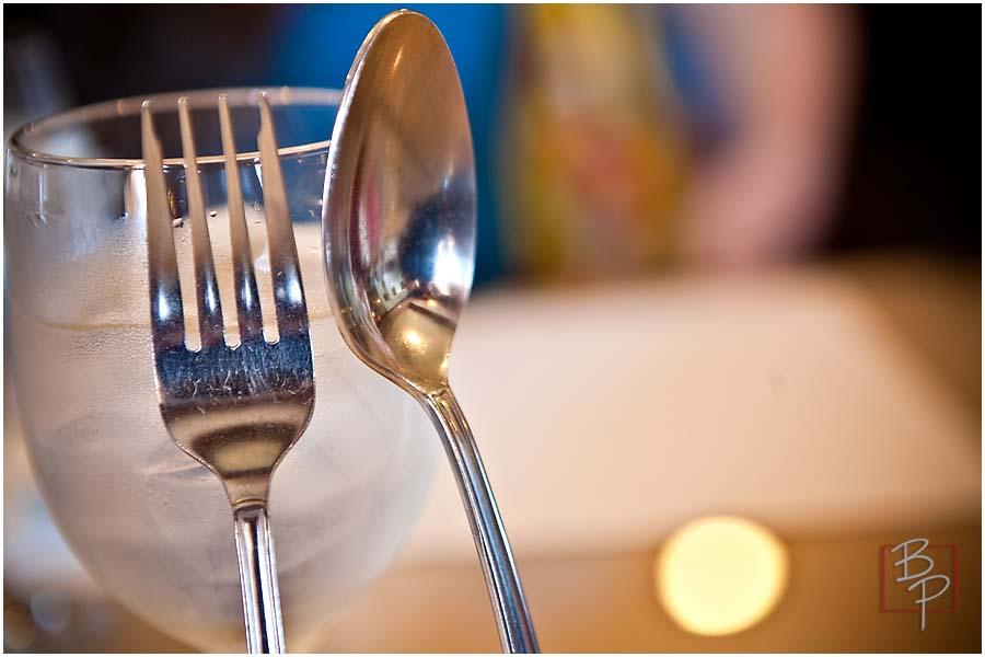 reflective dinnerware