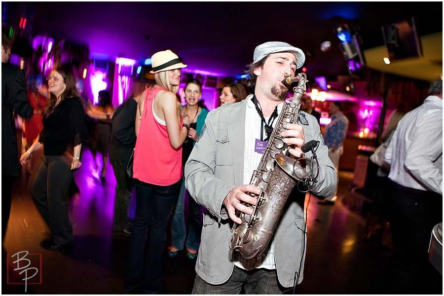 Eden Bar Saxophone Player