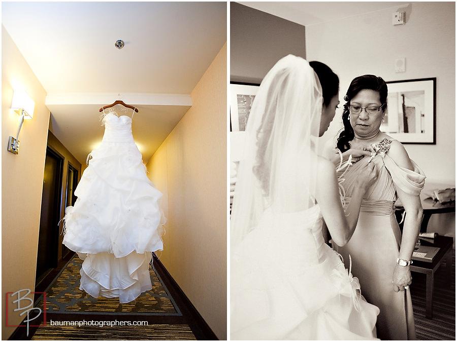 San Diego Wedding photography, Hilton Bay Front