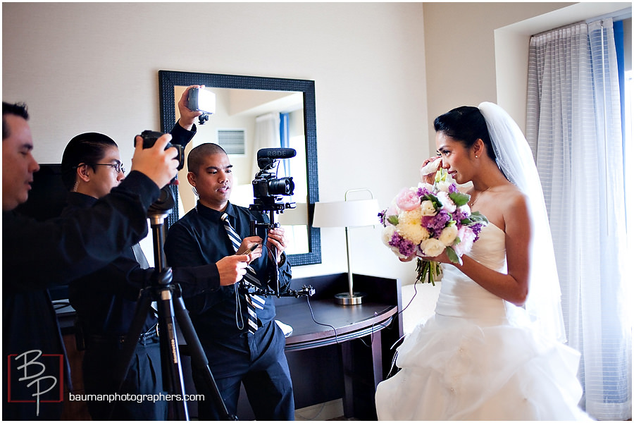 Bridal photography San Diego Hilton Bay Front Hotel