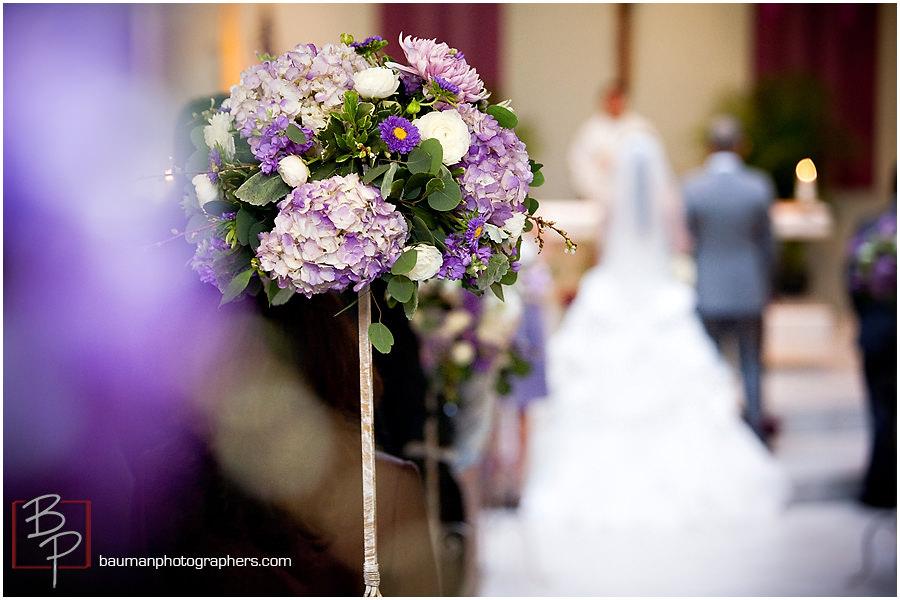 Bauman Photographers wedding photography Holy Family Church in Linda Vista