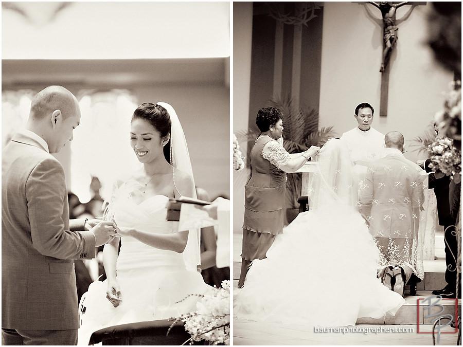Church ceremony photos, San Diego wedding photography