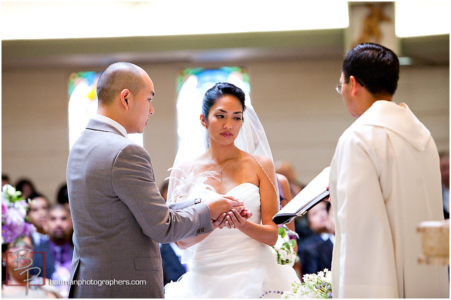 San Diego weddings, church ceremony pictures