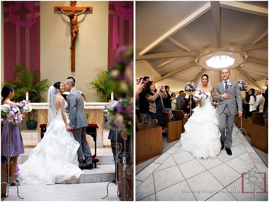 San Diego Wedding images, Holy Trinity Curch