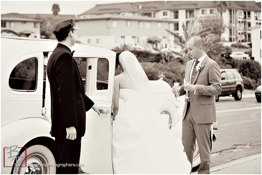 Wedding images at Holy Trinity Church, San Diego