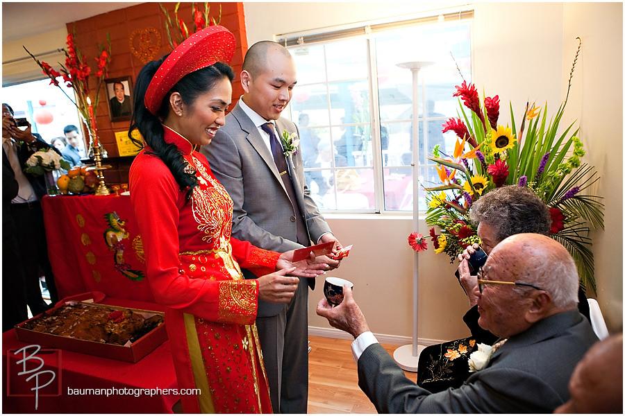 Bauman Photographers Wedding Photography, Vietnamese Tea Ceremony