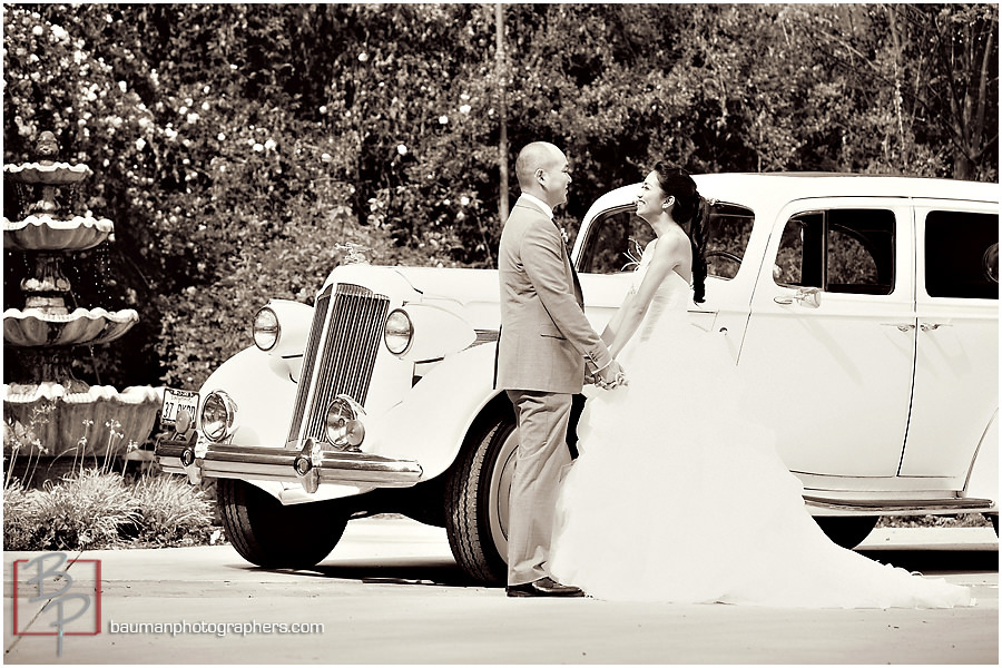 Bauman Photographers wedding portraits San Diego, CA