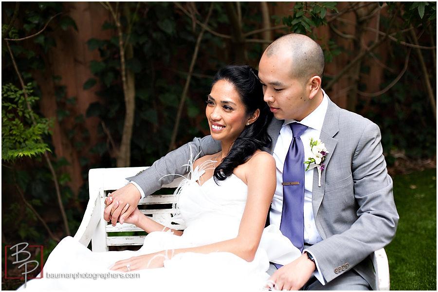 Bauman Photography wedding images Twin Oaks Garden Estate