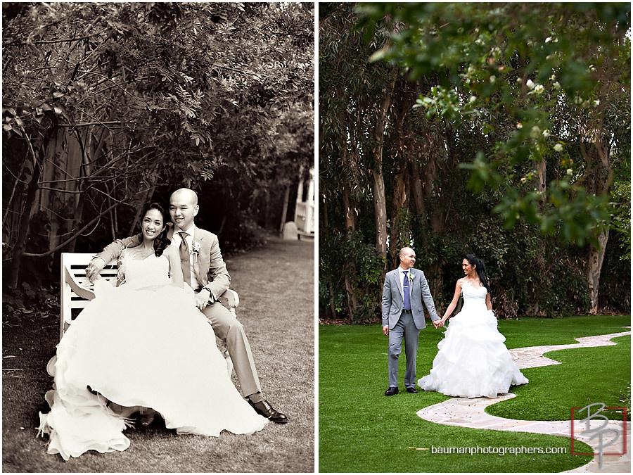 Bauman Photography San Diego Wedding pictures, Twin Oaks Garden Estate