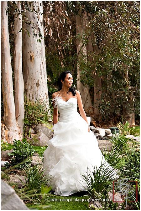 Bauman Photographers Bridal Portraits, Twin Oaks Garden Estate