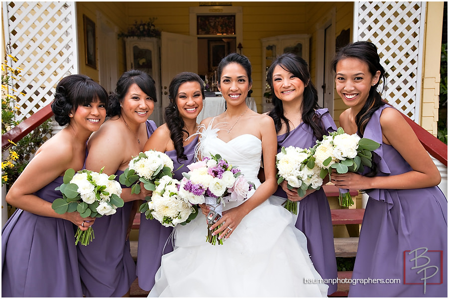 Bridal Party photos, San Diego CA