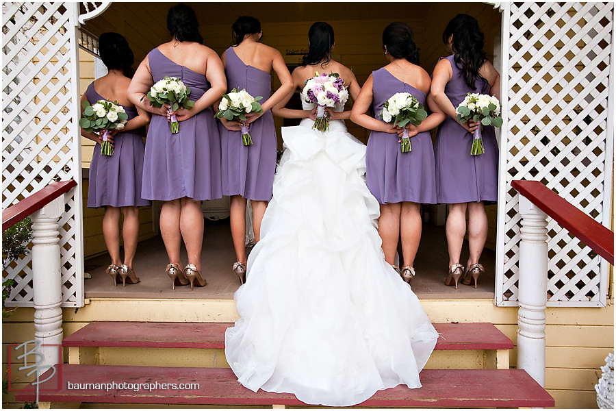 Bauman Wedding Photography bridal party pictures