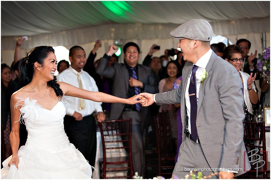 San Diego Twin Oaks Garden Estate wedding reception photos