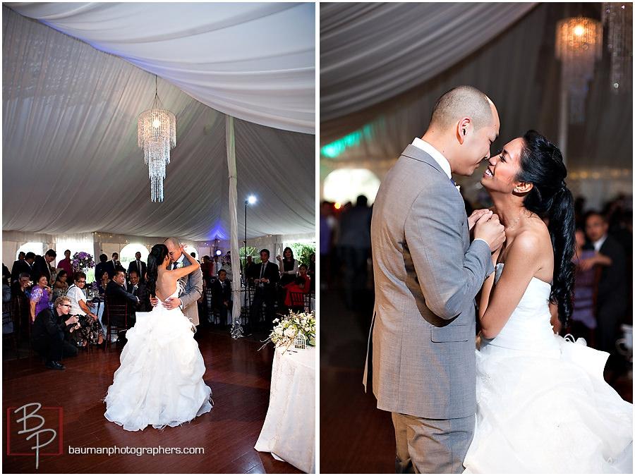 San Diego wedding reception photos by Bauman Photographers