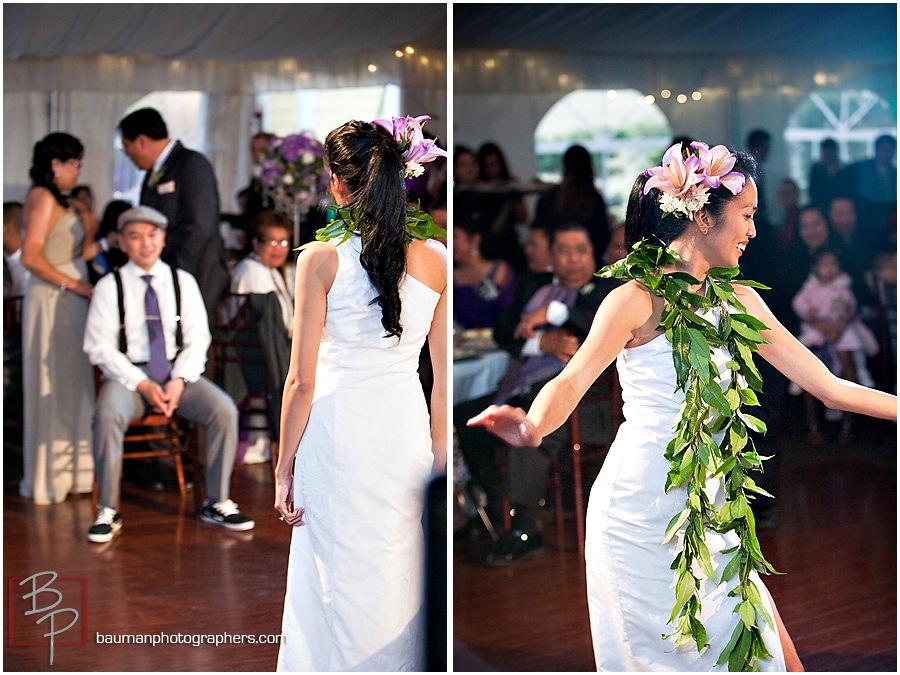 San Diego wedding images, reception at Twin Oaks Garden Estate