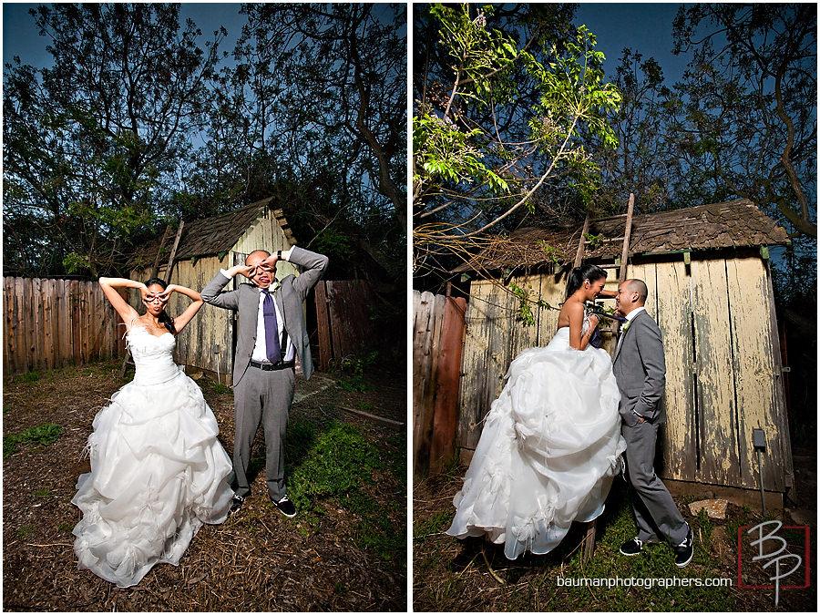 Wedding Portraits at San Diego's Twin Oaks Garden Estate