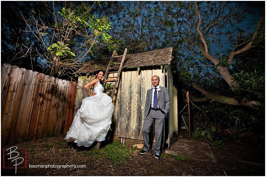 Wedding Portraits by Bauman Photography, San Diego, CA
