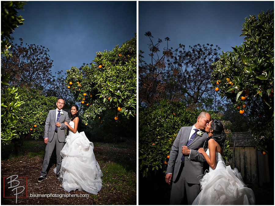 Outdoor wedding Portraits, San Diego, CA
