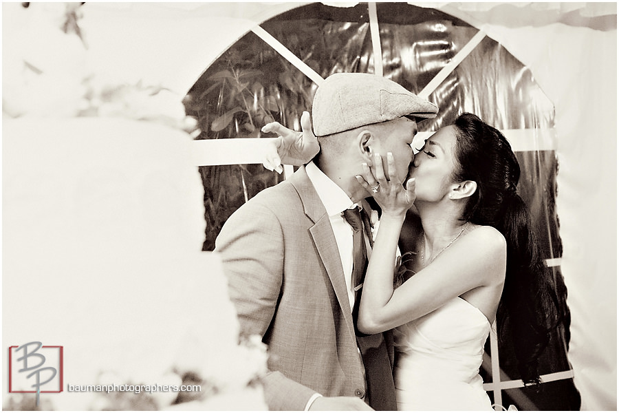 Candid wedding pictures by bauman photographers