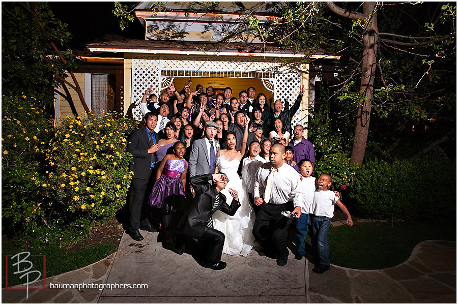 Candid wedding photography by Bauman Photographers