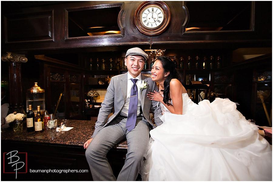 Candid wedding portraits by Bauman Photographers