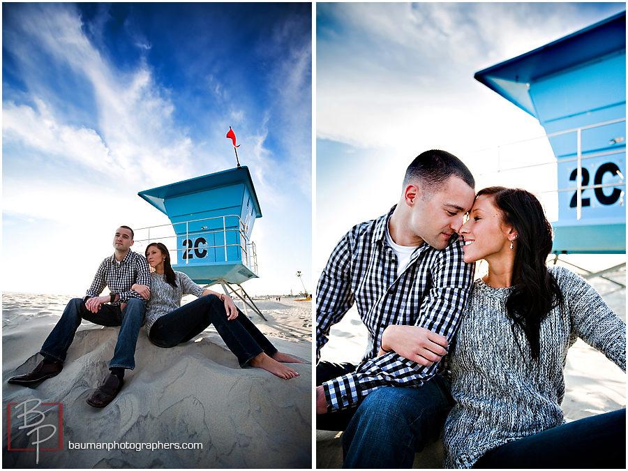 San Diego engagement photography, Coronado Beach