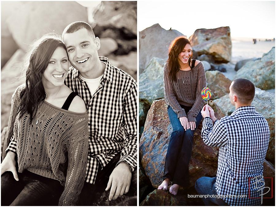 San Diego engagement pictures on Coronado Island